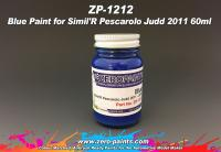 Blue Paint for Simil'R Pescarolo Judd 2011 60ml
