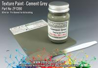 Cement Grey Textured Paint - 60ml (Engines, Interiors etc)