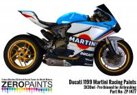 Ducati 1199 Martini Racing Paints 3x30ml