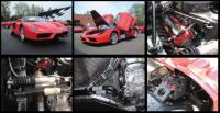 Ferrari Enzo Up Close & Mechanical Photo Research CD