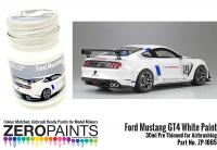 Ford Mustang GT4 White Paint - 30ml