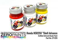 "Honda NSR250 ""Shell Advance Paint Set 3x30ml"