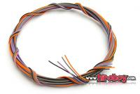 Ignition/Plug Wire/Piping Cord x 4 Colours (0.4mm)