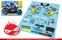 1:12 Marc VDS Honda RC213V 2015 Scott Redding Decals