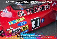 March F1 Red (STP Sponsored) Paint 60ml