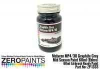 Mclaren MP4/30 Graphite Grey Mid Season Paint 60ml (Ebbro)
