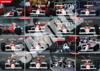 Mclaren MP4/4 in Detail Book - Limited Edition
