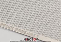Mesh Hexagon 95mm x 143mm Photoetched Sheet