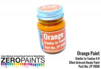 Orange Paint 30ml - Similar to Tamiya X-6