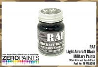 RAF Night Aircraft Black BS642 Paint 30ml