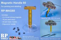 Large Magnetic Handle with Acrylic Basement - MAG60