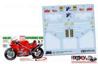 Spare Tamiya Decal Sheet A 1:12 Ducati 888 Superbike Racer - 14063