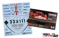Spare Tamiya Decal Sheet B 1:24 Toyota GT-One TS020 - 24222