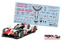 Spare Tamiya Decal Sheet B 1:24 Toyota TS050 Hybrid Gazoo Racing 24349