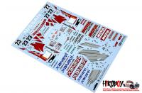 Spare Tamiya Decal Sheet A for 1:24 Xanavi Nismo GT-R R34 - 24268