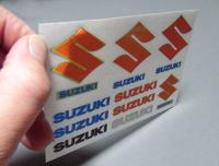 Suzuki (B) Full Colour Metal Transfers