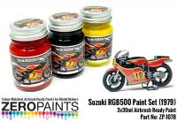 Suzuki RGB500 Paint Set (1979) 3x30ml