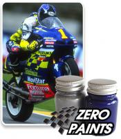 Suzuki RGV 500 2001 Telefonica Movistar Paint Set 2x30ml