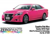 Toyota (Crown) Sapphire Pink (3T4) Mica Paint 60ml