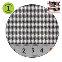 Upholstery Pattern Decals - Houndstooth Pattern 2 - White Background