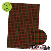 Upholstery Pattern Decals - Plaid Pattern Decal 6