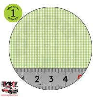 Upholstery Pattern Decals - Plaid Pattern (Green & White) Pattern 4