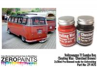 Volkswagen T1 Samba Bus (Sealing Wax - Chestnut Brown) 2x30ml