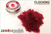 Flocking Powder - Cardinal Red (Dark Red)