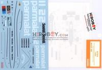 1:20 Brabham BT50 1982 Decals (Tamiya)