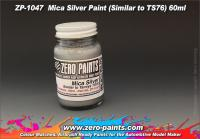 Mica Silver Paint (Similar to TS76) 60ml