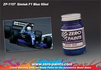 Simtek F1 Blue Paint 60ml