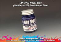 Royal Blue Paint 30ml - Similar to Tamiya X3