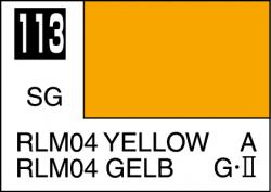 Mr Color Paint RLM04 Yellow 10ml # C113