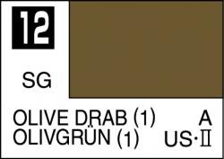 Mr Color Paint Olive Drab (1) 10ml # C012