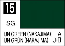 Mr Color Paint IJN Green (Nakajima) 10ml # C015