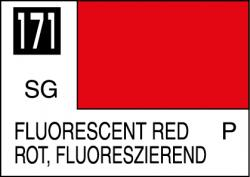 Mr Color Paint Fluorescent Red 10ml # C171
