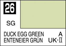 Mr Color Paint Duck Egg Green 10ml # C026