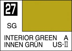 Mr Color Paint Interior Green 10ml # C027