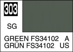 Mr Color Paint Green FS34102 10ml # C303