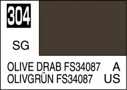 Mr Color Paint Olive Drab FS34087 10ml # C304
