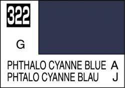 Mr Color Paint Phthalo Cyanne Blue 10ml # C322