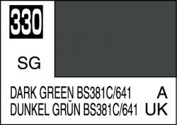 Mr Color Paint Dark Green BS381C/641 10ml # C330