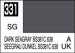 Mr Color Paint Dark Seagray BS381C 638 10ml # C331