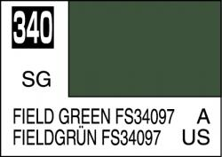 Mr Color Paint Field Green FS34097 10ml # C340