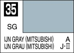 Mr Color Paint IJN Gray (Mitsubishi) 10ml # C035