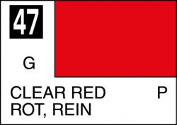 Mr Color Paint Clear Red 10ml # C047