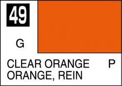 Mr Color Paint Clear Orange 10ml # C049