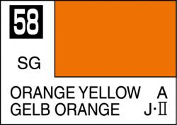 Mr Color Paint Orange Yellow 10ml # C058