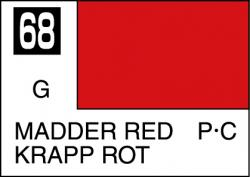 Mr Color Paint Madder Red 10ml # C068