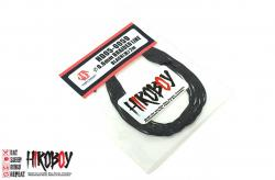 0.6mm Dia Braided Line Black 2m